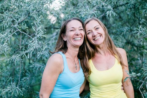 Gabi und Christine